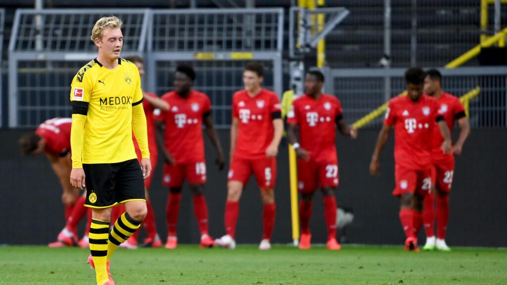 Bundesliga : le Bayern s'impose à Dortmund et file vers le titre
