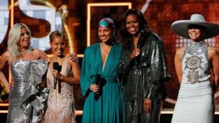 Las mujeres se robaron el show, los homenajes y la mayoría de categorías en estos Grammy 2019. La ex primera dama Michelle Obama sorprendió a todos con su asistencia y su discurso dedicado al empoderamiento femenino.