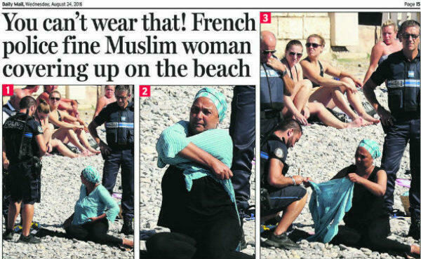 The burkini row stirred debate and mockery around the world.