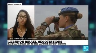 2020-10-14 12:12 Lebanon, Israel begin indirect talks over maritime border