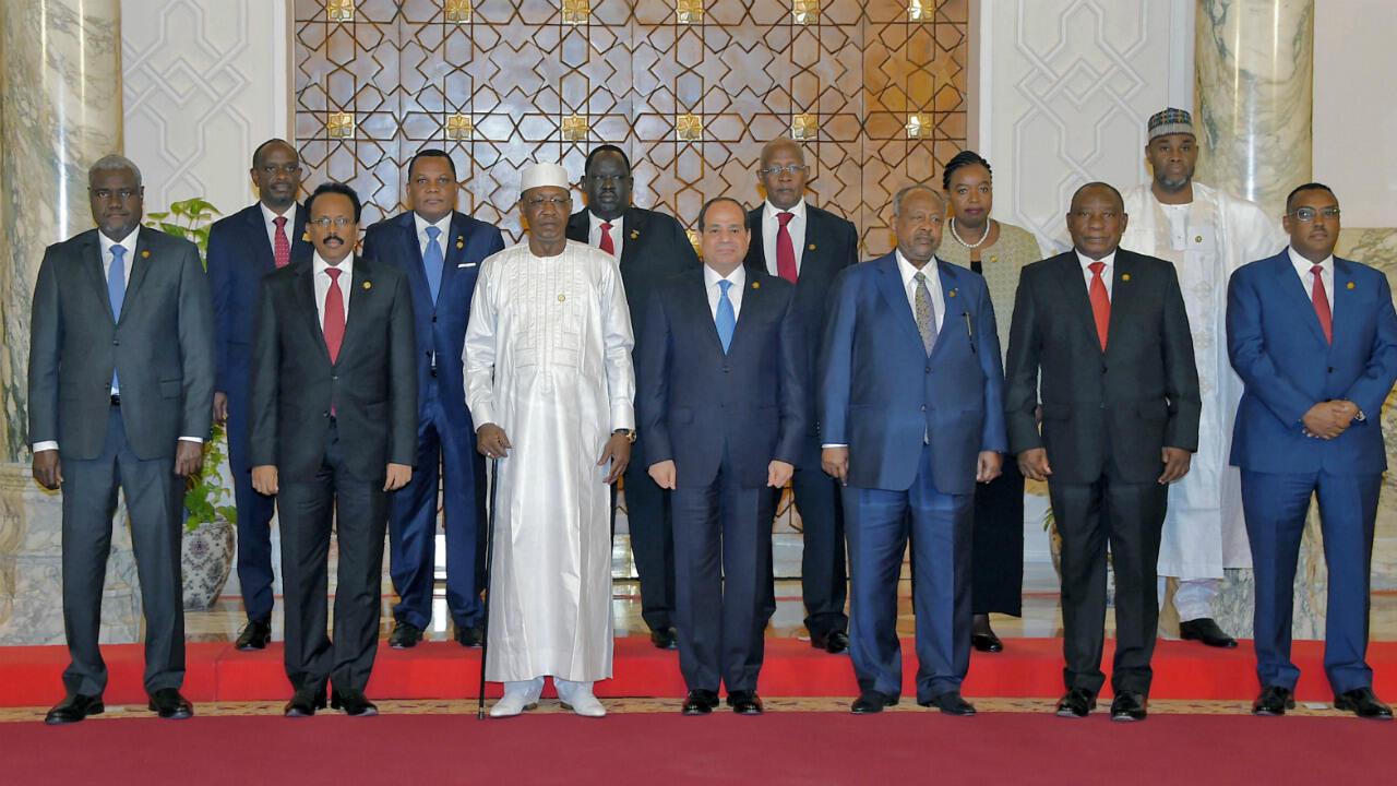 القمة الأفريقية في القاهرة