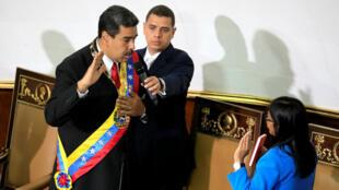 El presidente de Venezuela, Nicolás Maduro, reconoció durante su juramentación que algunas cosas en su gobierno se estaban haciendo mal. Mayo 24 de 2018.