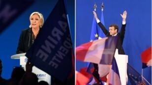 Marine Le Pen et Emmanuel Macron ne partagent pas la même vision du rôle que doit jouer la diplomatie française.