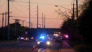 Las fuerzas de seguridad investigan los incidentes en Austin, Texas.