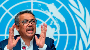 WHO chief Tedros Adhanom Ghebreyesus says the coronavirus is 10 times as deadly as the swine flu.