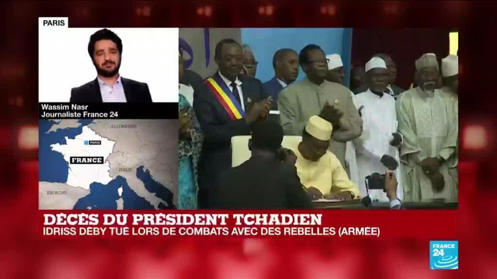 2021-04-20 17:09 Mort d'Idriss Déby : les deux versions sur les circonstances de son décès