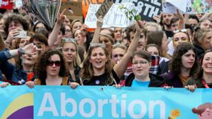الإجهاض في إيرلندا ممنوع حاليا