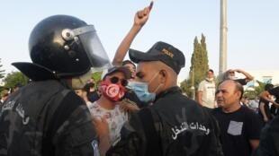 Tunisia-affrontements