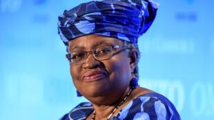 Ngozi Okonjo-Iweala, ancienne ministre des Finances du Nigeria, à Genève le 15 juillet 2020