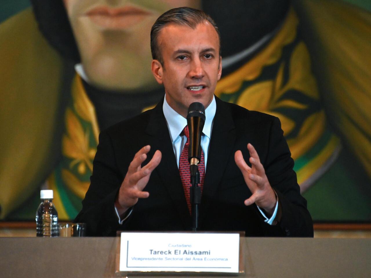 Tareck El Aissami es el nuevo ministro de Petróleo de Venezuela