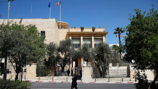 """El consulado de Francia en Jerusalén había empleado a Romain Franck en el marco de un """"voluntariado internacional"""", que permite a jóvenes adquirir una experiencia laboral en otro país por un año."""