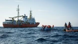 Médicos Sin Fronteras y SOS Mediterranée anunciaron el 6 de diciembre de 2018 el fin de las actividades del Aquarius.