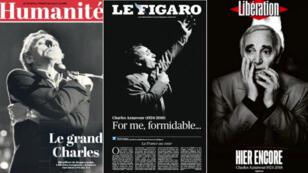 Charles Aznavour rêvait de chanter jusqu'à cent ans la vie, l'amour, la nostalgie, le temps qui passe.