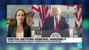 2020-09-22 08:02 United Nations General Assembly: Trump to address world leaders on Iran sanctions