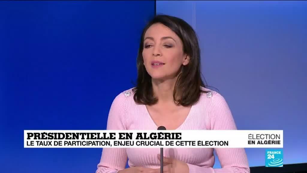 2019-12-12 10:03 Le taux de participation à la présidentielle algérienne sera le vrai enjeu, analyse Meriem Amellal Lalmas