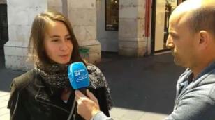 France24.com est allé à la rencontre des Niçois pour connaître le programme de leur soirée, mercredi 3 mai.