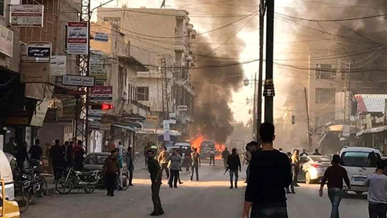 قتلى وجرحى في تفجير سيارة مفخخة في مدينة الباب بشمال سوريا