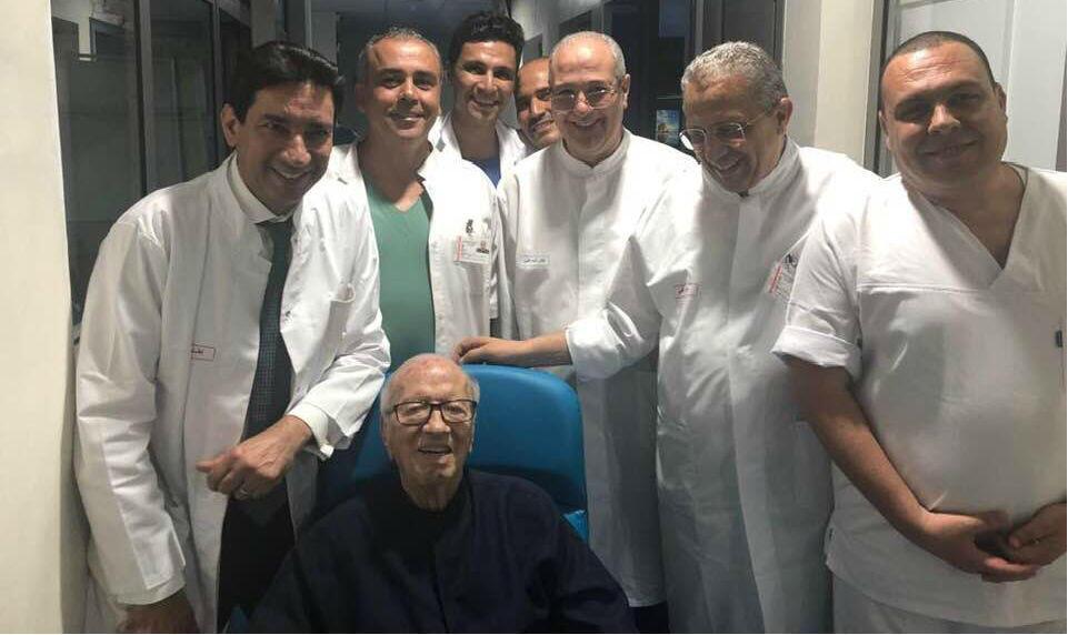 Photo publiée sur le compte Facebook de la porte parole de la présidence tunisienne, Saïda Garrach