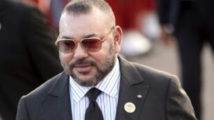 ملك المغرب محمد السادس في 22 آذار/مارس 2017 في الرباط