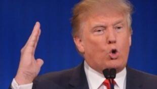 الملياردير الأمريكي دونالد ترامب