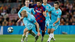 دوري أبطال أوروبا، المجموعة السادسة، برشلونة ضد إس كيه سلافيا براغ ، برشلونة، إسبانيا، 5 نوفمبر تشرين الثاني 2019