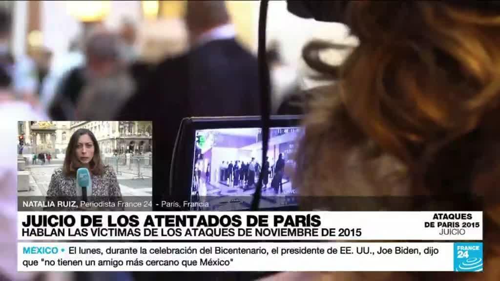 2021-09-28 14:32 Informe desde París: hablan las víctimas los atentados ocurridos en noviembre de 2015