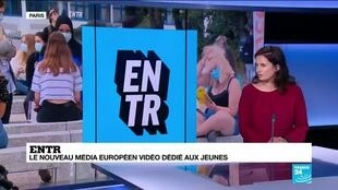 2021-05-17 13:15 France Médias Mondes lance Entre, média européen vidéo dédié aux jeunes