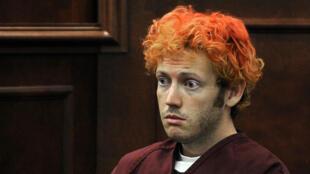 James Holmes, lors de sa comparution, le 23 juillet 2012, au tribunal de Centennial, Colorado.