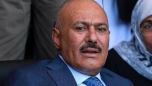 L'influent ex-président yéménite Ali Abdallah Saleh (ARCHIVES).