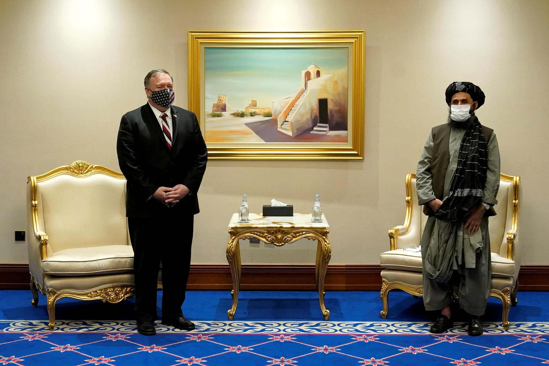 POMPEO MEETS THE TALIBAN QATAR