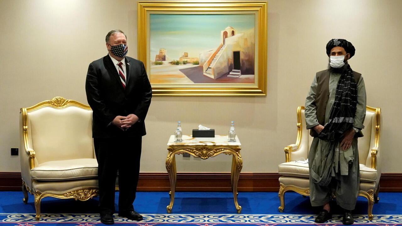 US Secretary of State Pompeo meets Afghan govt, Taliban negotiators in Qatar