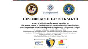 """Les sites, hébergés sur Tor, ont été fermés par les autorités au cours d'une  opération internationale baptisée """"Onymous""""."""