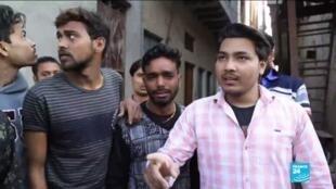 """2020-02-27 10:09 Loi sur la citoyenneté en Inde : """"La police est du côté des hindous, ils nous jettent des pierres"""""""