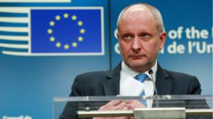 Matti Maasikas, viceministro de Asuntos Exteriores de Estonia y presidente del Consejo de Asuntos Generales de la Unión Europea.