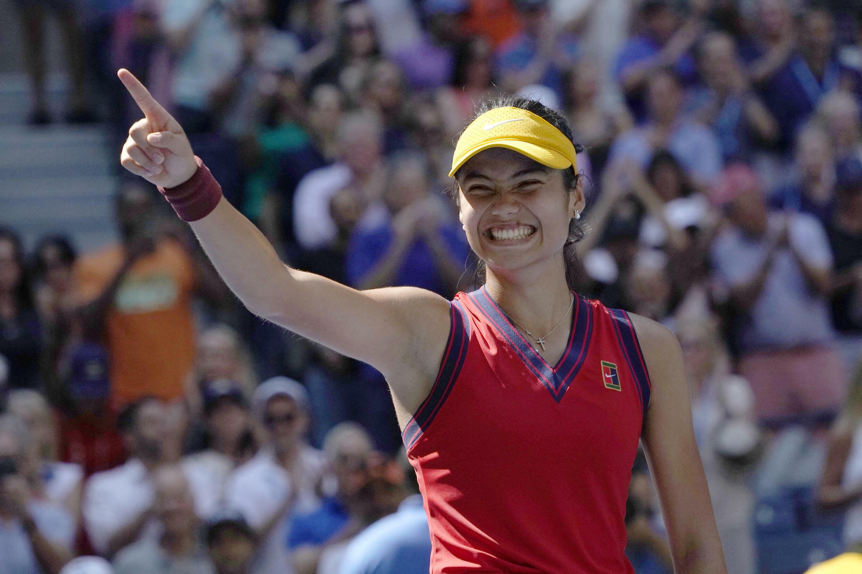 Emma Raducanu tennis us open