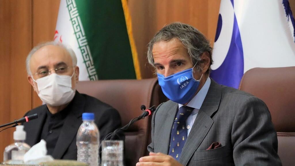 مدير وكالة الطاقة الذرية في طهران للتباحث بشأن إحياء الاتفاق النووي الإيراني thumbnail