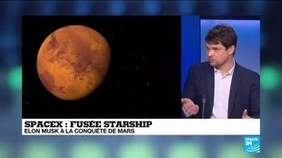 2021-03-04 12:10 Fusée Starship de Space X : le prototype a réussi à se poser après deux échecs