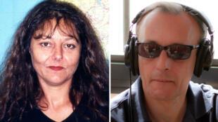 الصحفيان الراحلان جيسلان دوبون وكلود فيرلون