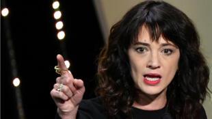 الممثلة الإيطالية آسيا أرجنتو.