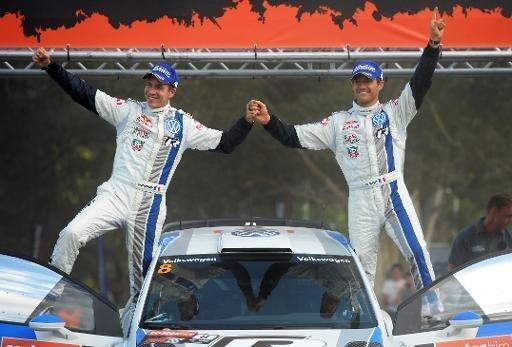 Sébastien Ogier et son copilote Julien Ingrassia.