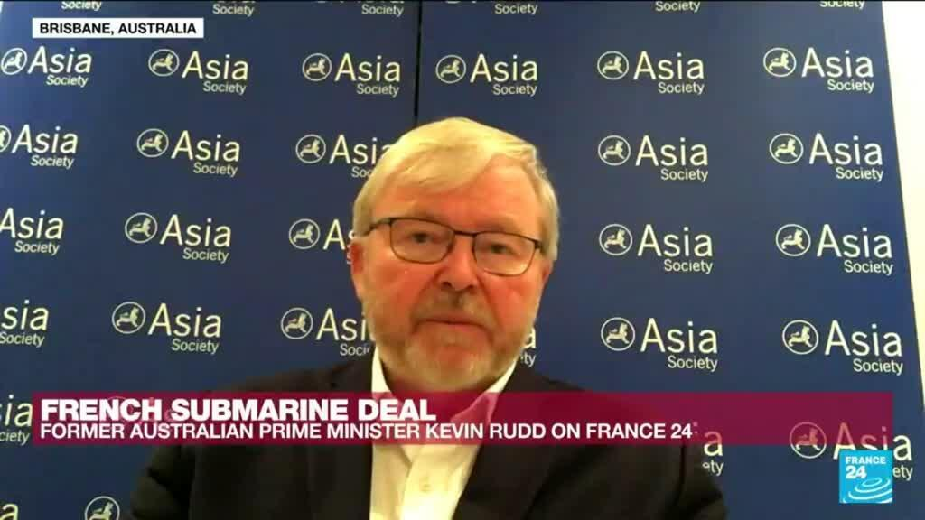 2021-09-22 12:05 Submarine dispute: 'A foreign policy debacle for Australia,' says former Australian PM Rudd