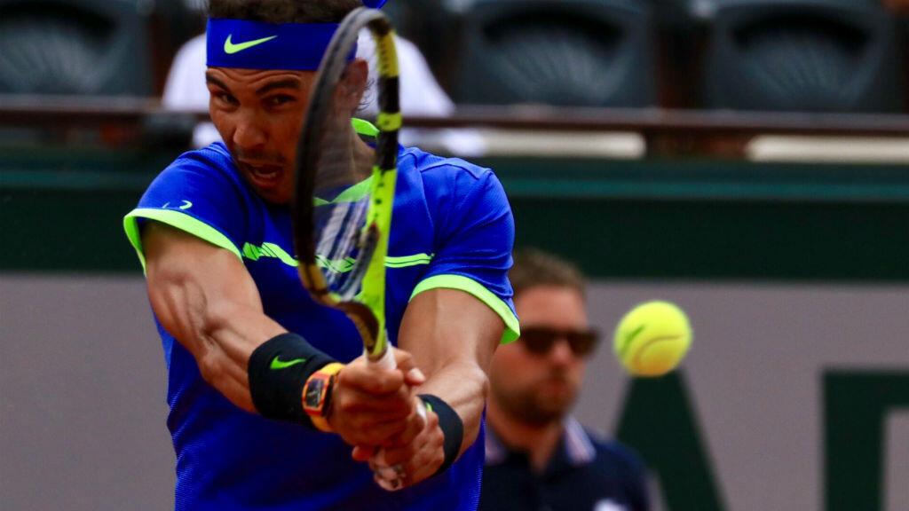 Rafael Nadal n'a pas eu à s'employer pour rejoindre les demi-finales de Roland-Garros 2017.