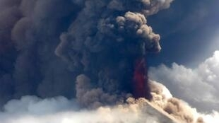 Between 7,000 and 13,000 people are believed to have been displaced by Mount Ulawun's eruption