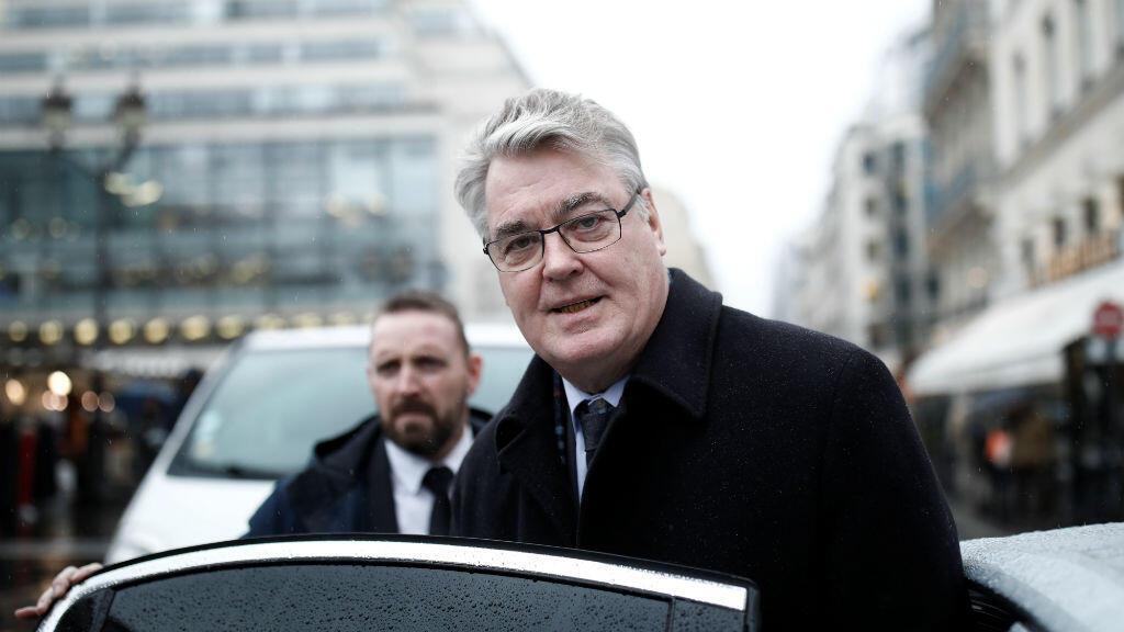 El alto comisionado de las pensiones, Jean-Paul Delevoye, en París, Francia, el 6 de diciembre de 2019.