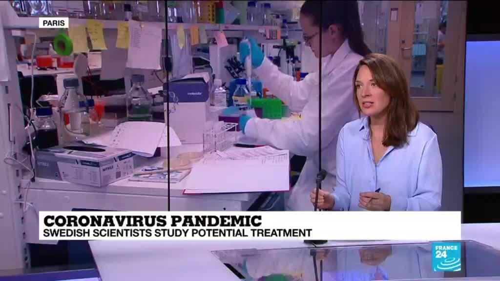 2020-09-18 14:07 Coronavirus pandemic: Swedish scientists study potential treatment