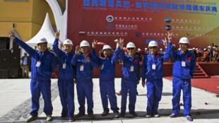 La ligne ferroviaire entre Addis Abeba et Djibouti, financée et construite par la Chine, reliera les deux villes en une dizaine d'heures.