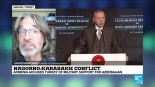 2020-09-28 14:03 Nagorno-Karabakh conflict: Armenia accuses Turkey of military support for Azerbaijan