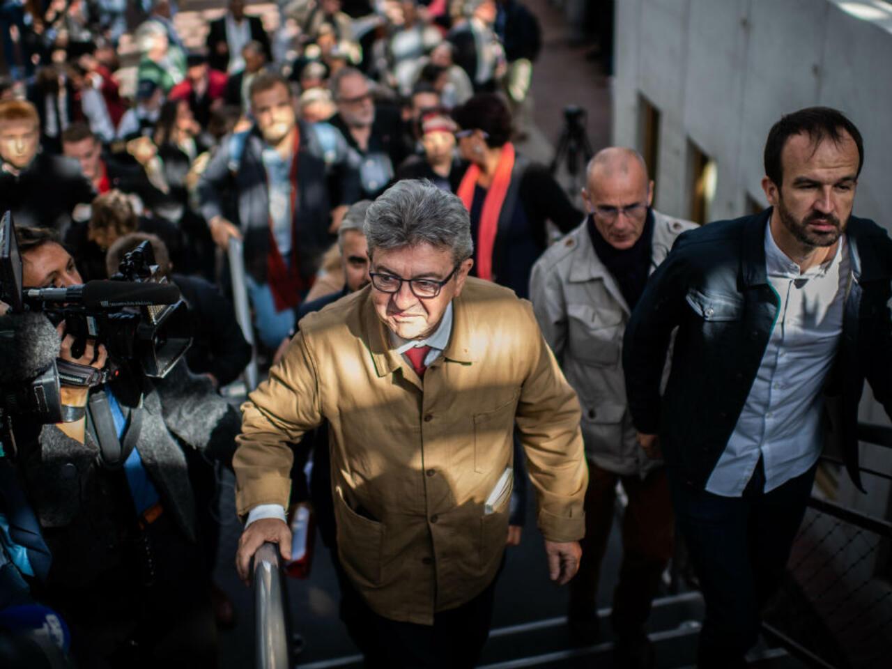 Perquisition A La France Insoumise Trois Mois De Prison Avec Sursis Requis Contre Jean Luc Melenchon
