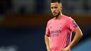 Eden Hazard's time at Real Madrid continues to be overshadowed by injury