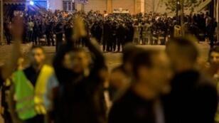 متظاهرون مغربيون في منطقة الحسيمة